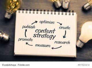Eine gute Content-Strategie ist essenziell für erfolgreiche Inbound PR.